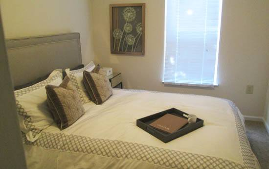 Relax in your new bedroom at The Grove at Spring Valley