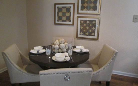 Your new dining room at The Grove at Spring Valley