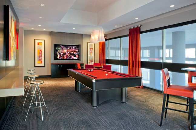 Our luxury apartments in Silver Spring, MD has a billiards room