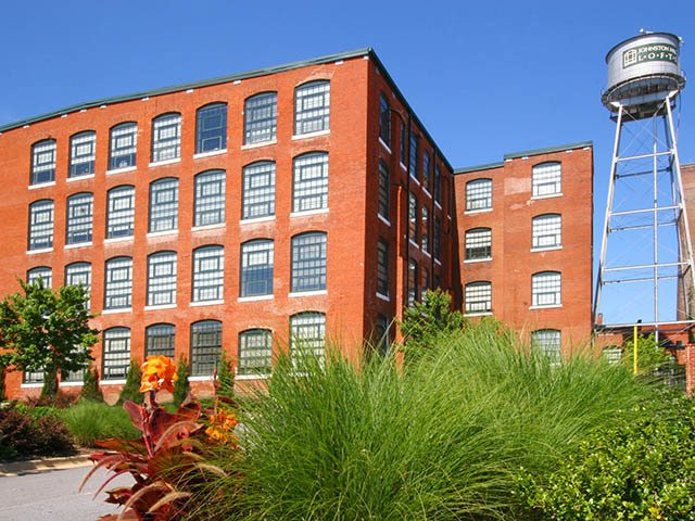 A view of our tower at Johnston Mill Lofts
