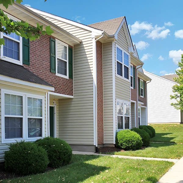 Enjoy all the best amenities at England Run Townhomes