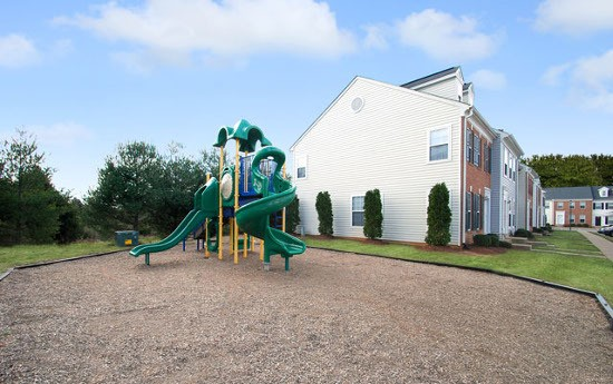 Playground at our apartments in Fredericksburg, VA