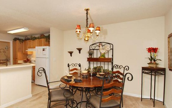 Our Apartments In Lawrenceville, GA Have Large Dining Rooms