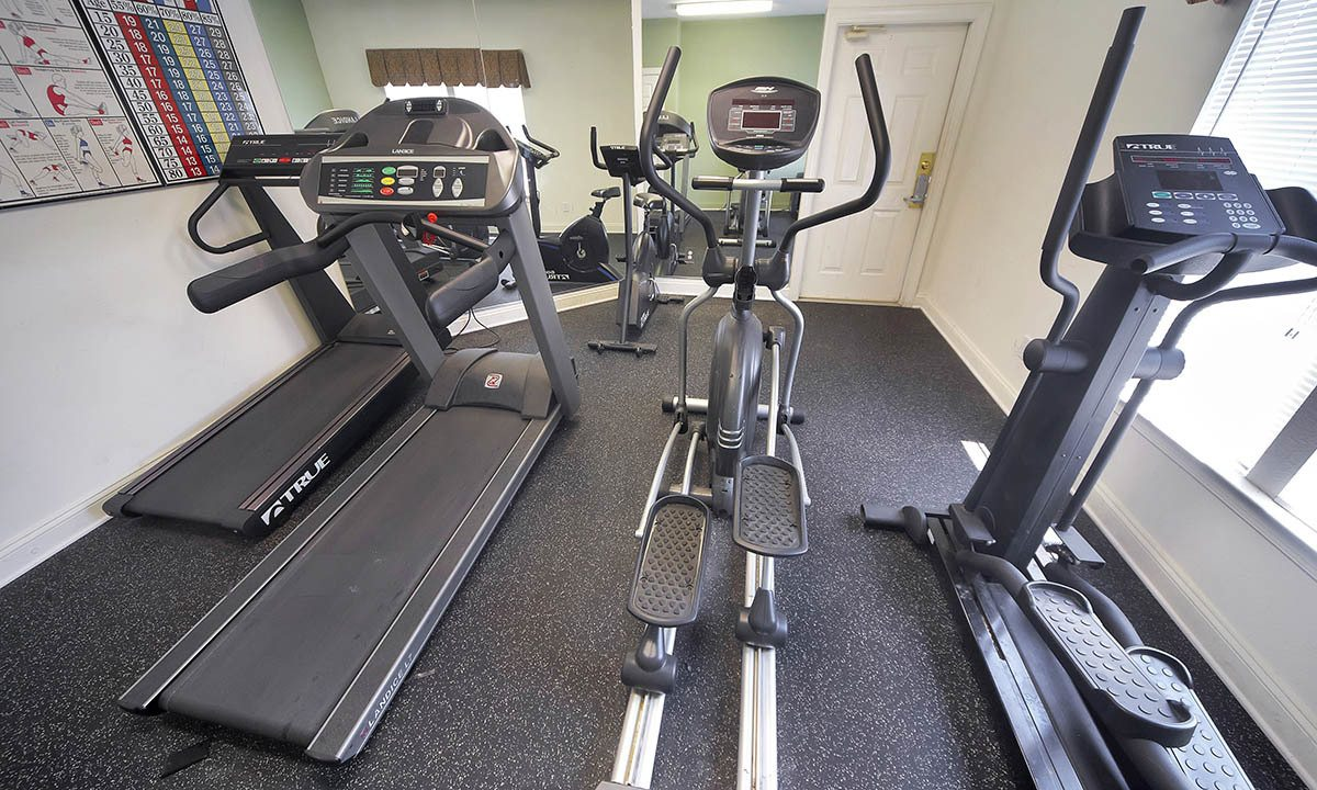 Broadwater Townhomes Fitness Equipment in Chester, VA