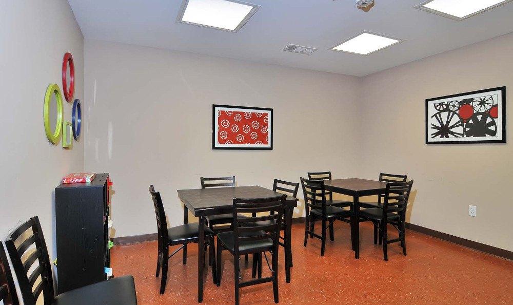 Dining area at  Villas at Lakewood in Atlanta, GA