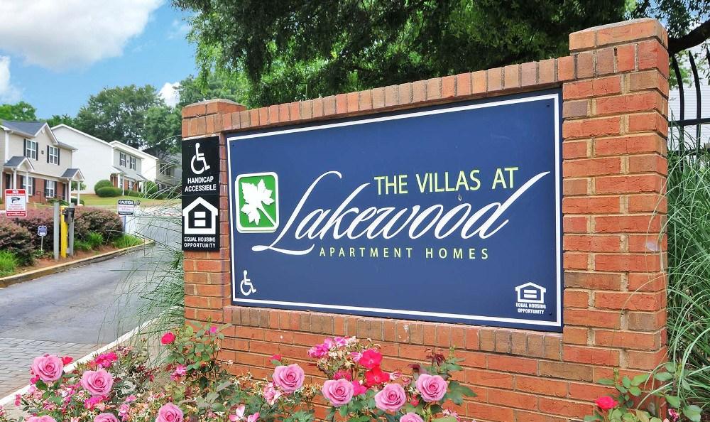 Entrance Sign To Atlanta Apartments