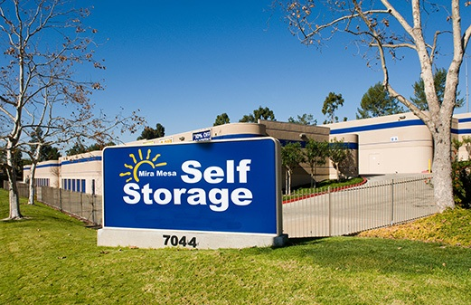 Front of office for Mira Mesa Self Storage