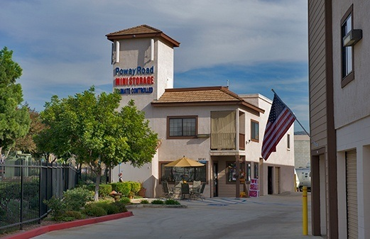 Front of office for Sorrento Mesa Self Storage
