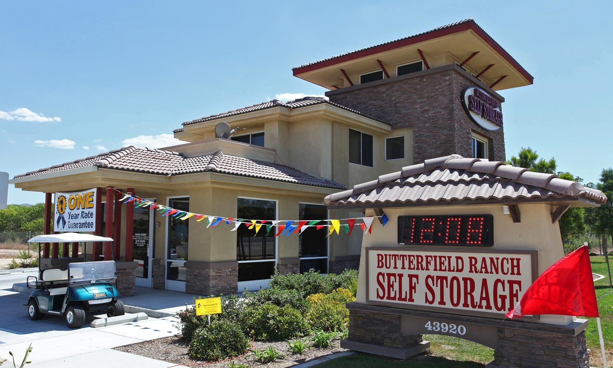 Self Storage Units Temecula Ca Butterfield Ranch Self