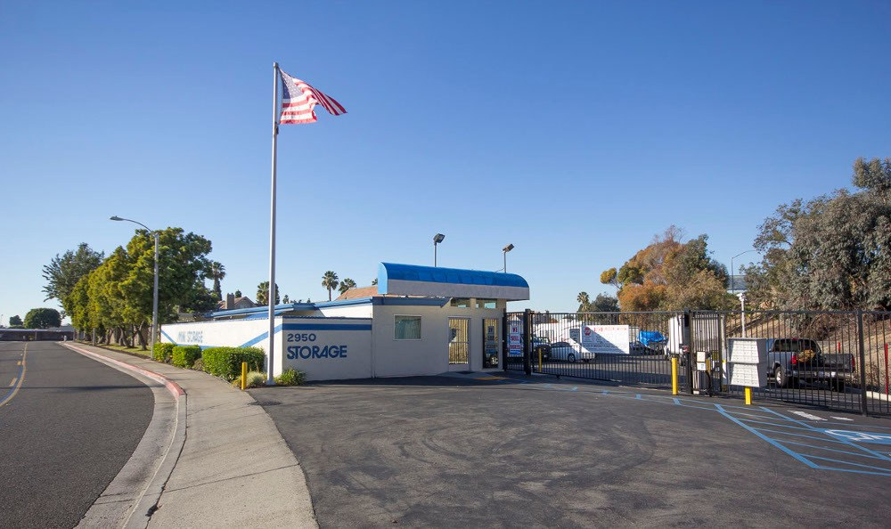 Front of our storage facility in Costa Mesa, CA