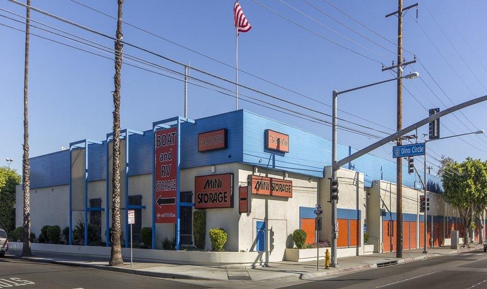 Front of Anaheim MiniStorage in Anaheim, CA