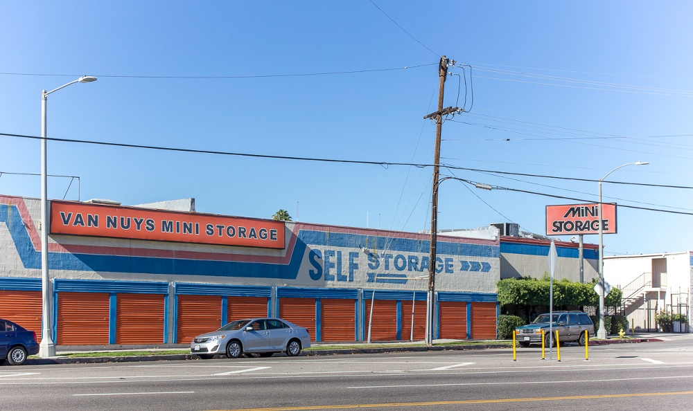 Front of our storage facility in Panorama City, CA