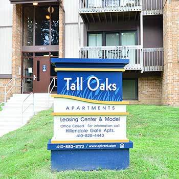 View our Tall Oaks Apartments located in baltimore, MD