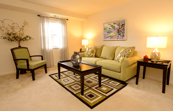 Affordable apartments at The Greens in Essex and Dundalk, Maryland.