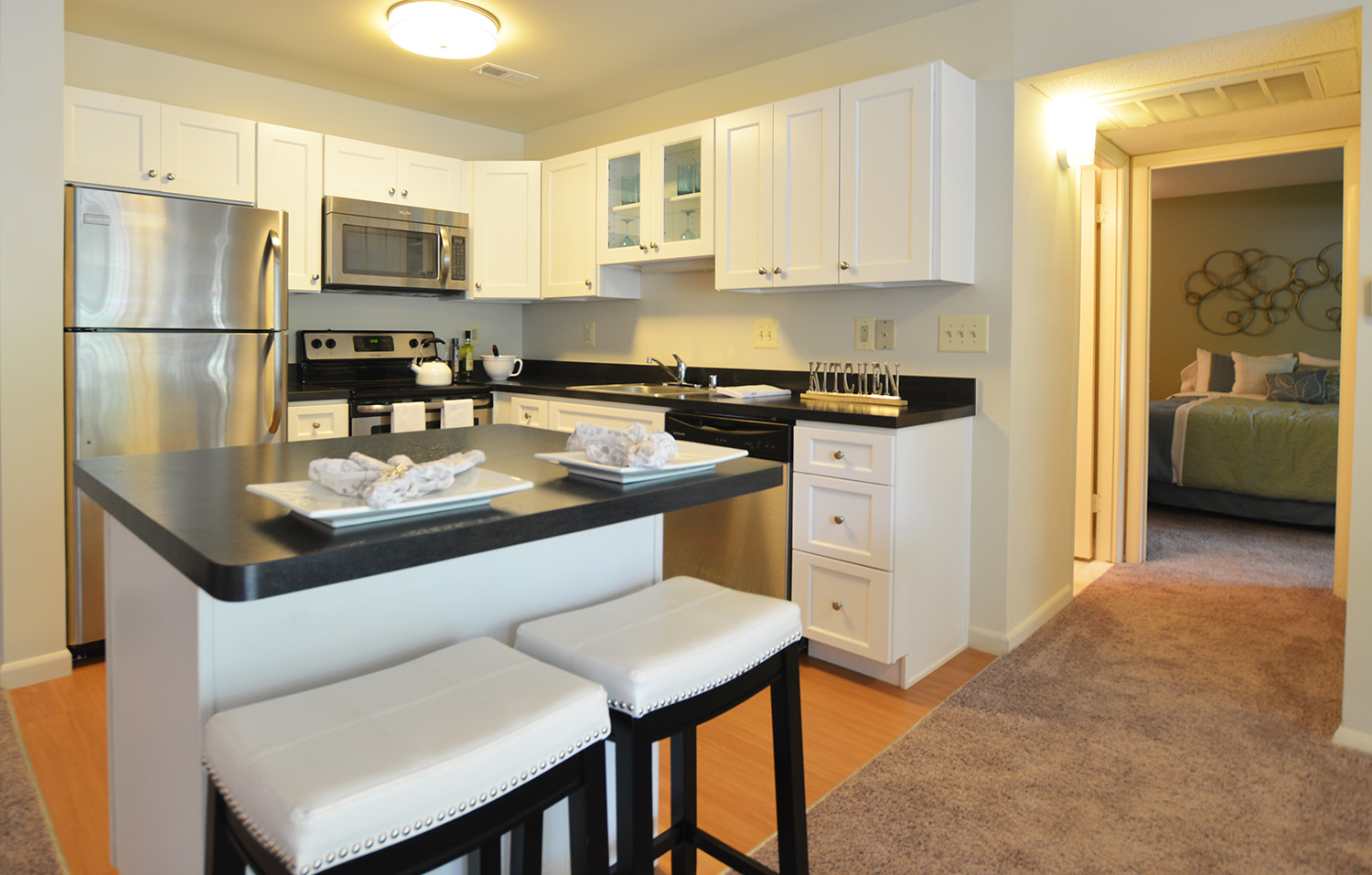 Our apartments in Cockeysville are beautifully renovated