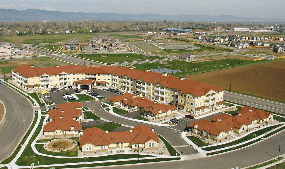 Bird's Eye View Of Our Fort Collins Senior Living Facility