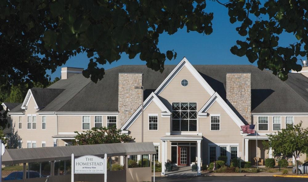 Exterior of our senior living facility in Washington, MO