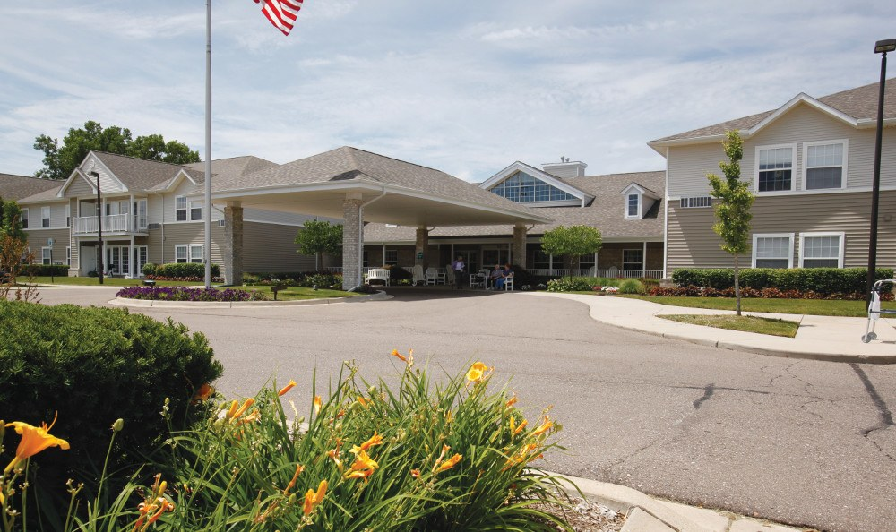 Front At Our Senior Retirement Community In Clinton Township