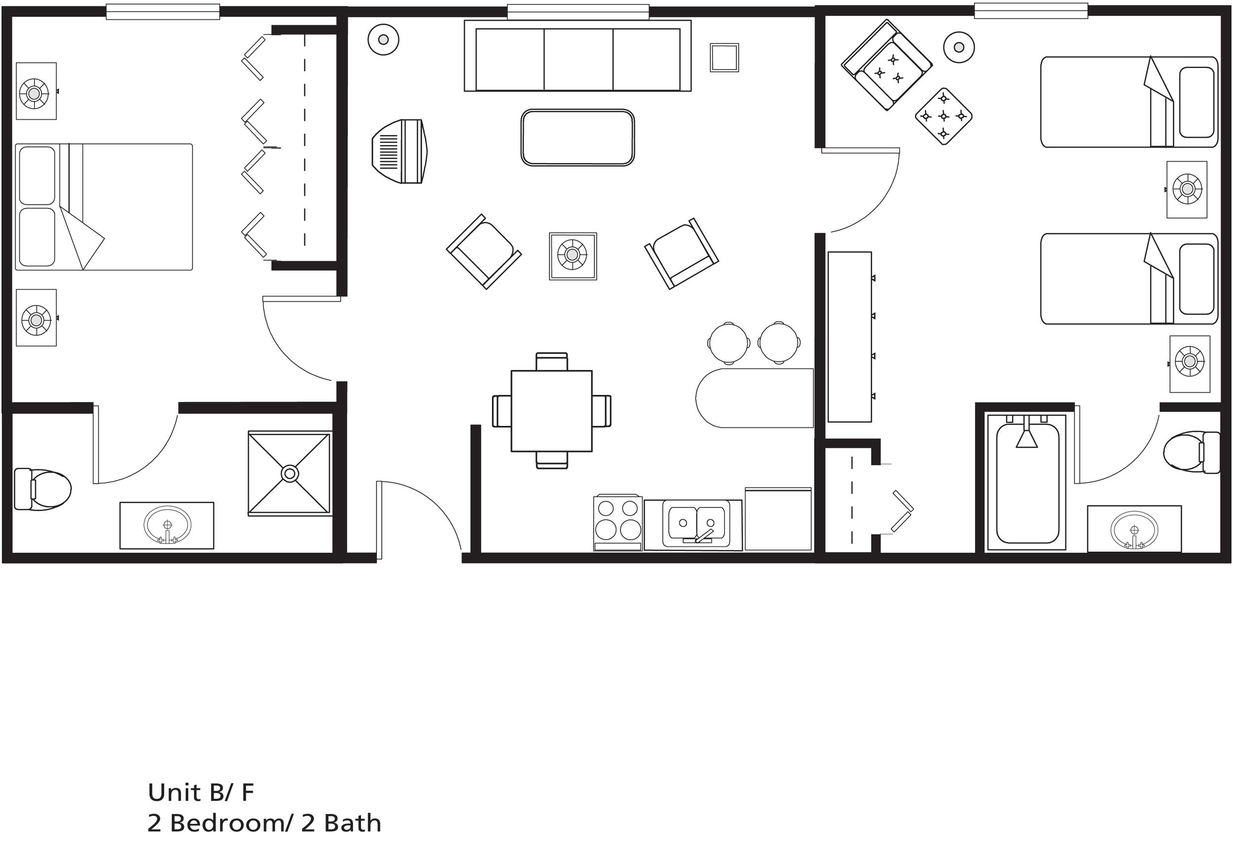 Senior living floor plans maple heights retirement community for Retirement floor plans
