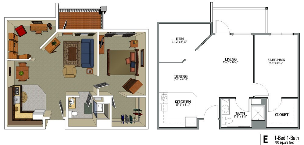 Collection of small house plans 700 sq ft 700 sq ft for 700 square feet house