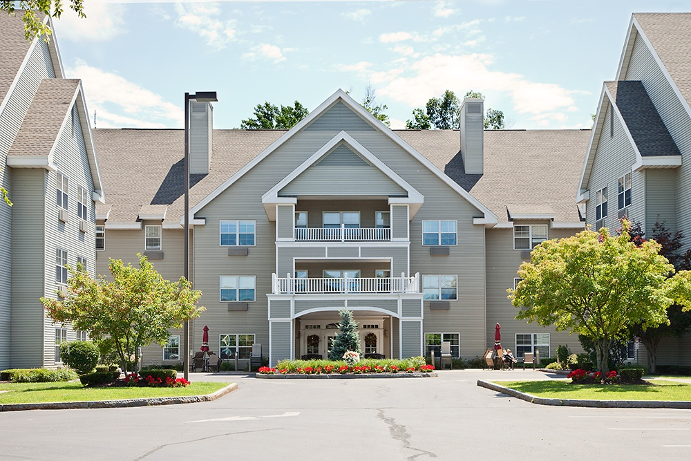 Front Entrance At Our Liverpool Retirement Community