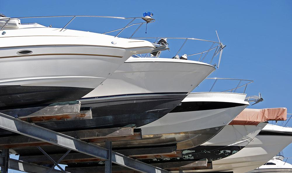Boat storage options at AnotherAttic Self-Storage