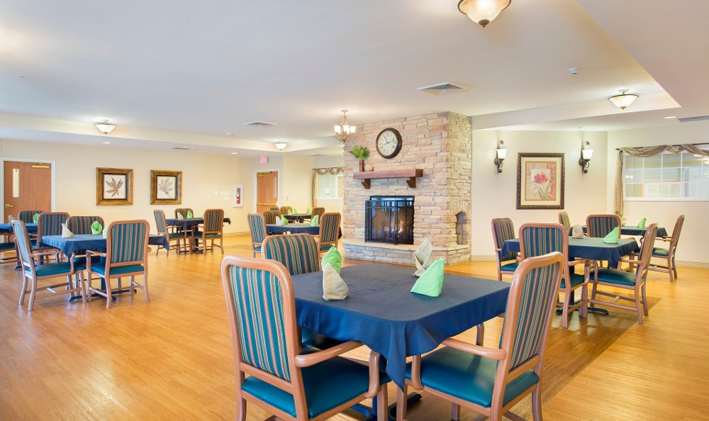 Fine dining here at our senior living community in Avon, IN