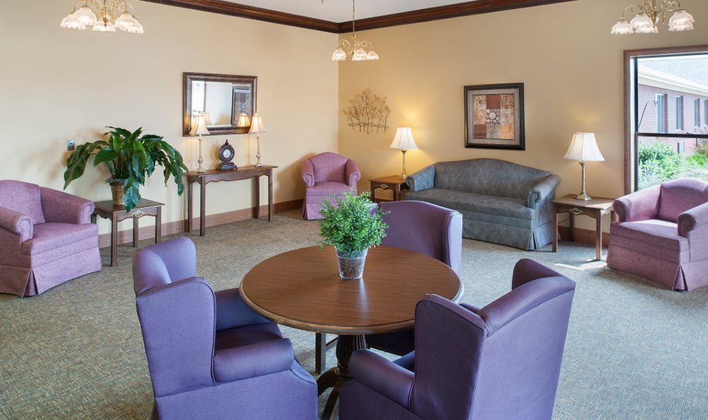 Exceptional Awesome Community Area At Senior Living Community In Muncie With Muncie  Indiana Furniture Stores