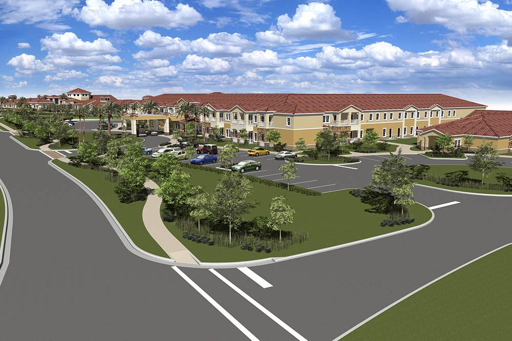 Ample Parking At Bridgewater Park Assisted Living In Ocala, FL