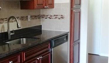 Kitchen At Eagle Rock Apartments At South Nyack