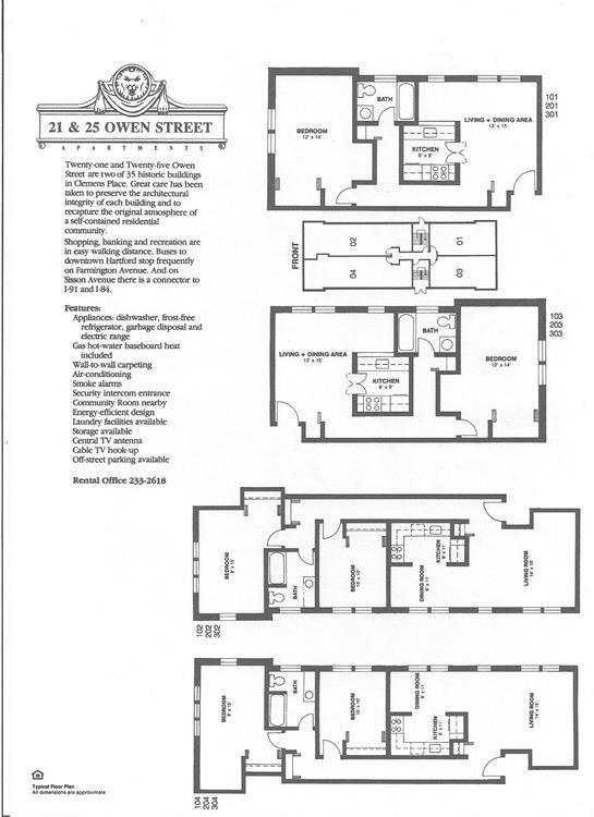 Affordable Studio 1 2 Bedroom Apartments in Hartford CT
