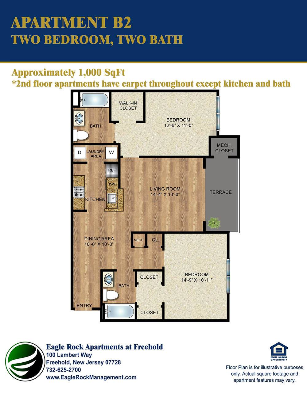 bedroom apartments in freehold nj on 1000 sq ft apartment floor
