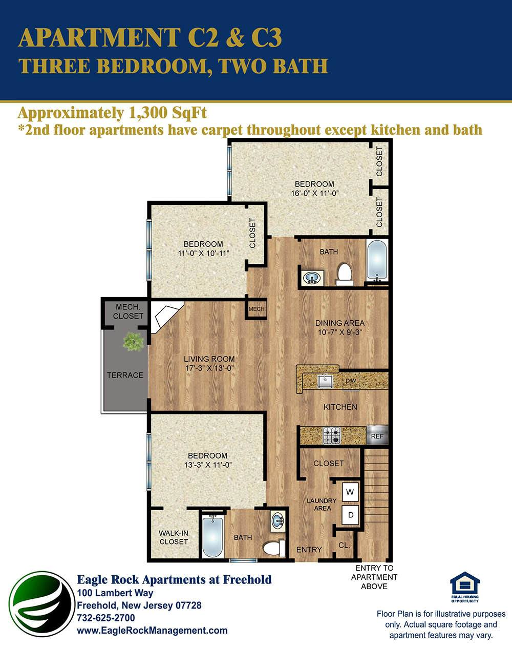 100 300 Sq Ft Apartment Floor Plan Poll Could You