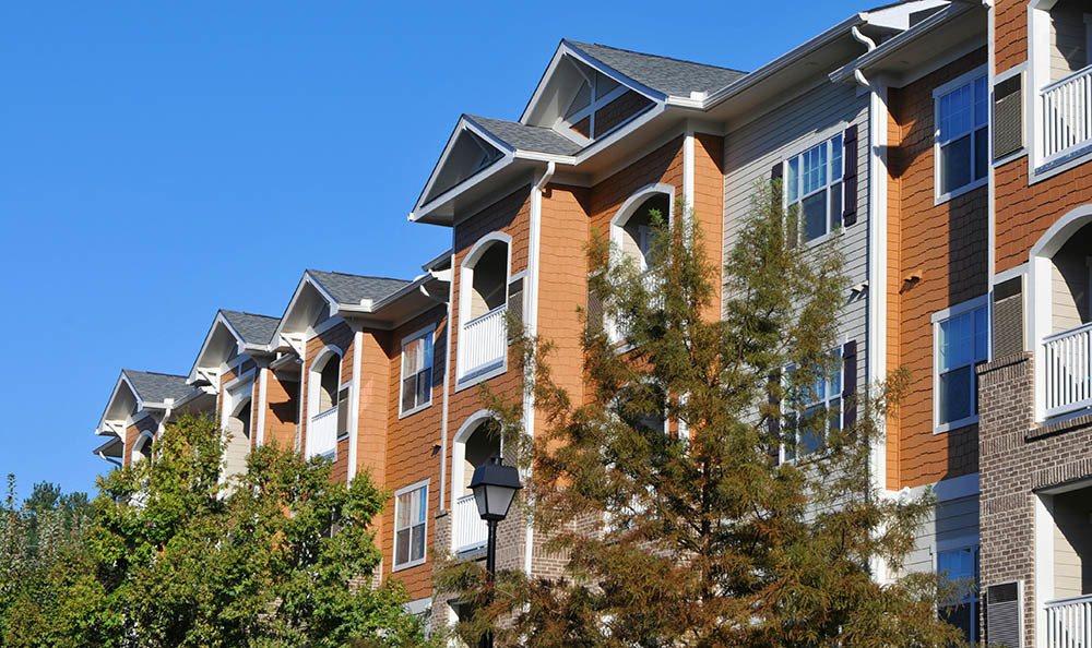 Atlanta apartments facade