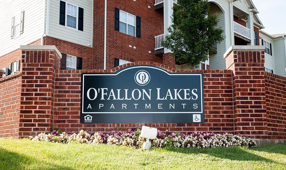 Signage at O'Fallon Lakes in O'Fallon, MO