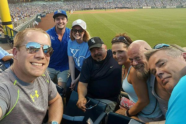 Midwest Team At Kc Baseball Game