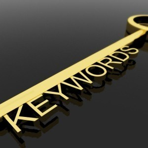Keywords stock image.