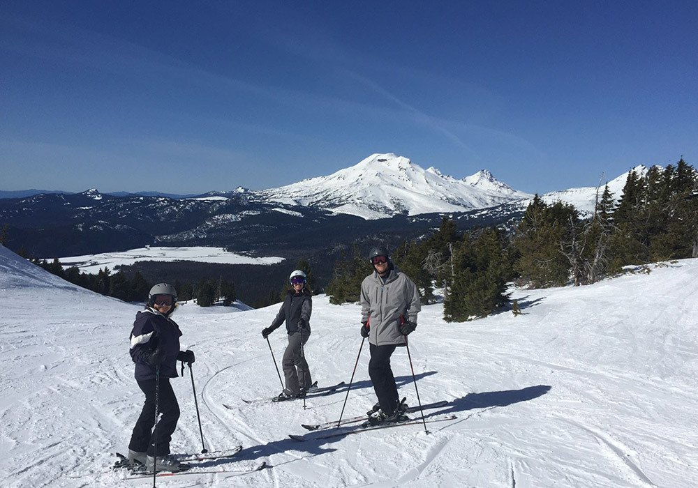 G5 Employees Skiing Mt. Bachelor