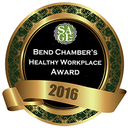 Bend CHamber's Healthy Workplace Award 2016