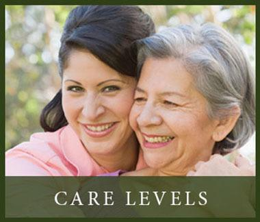 View our different levels of care at The Terraces of Roseville