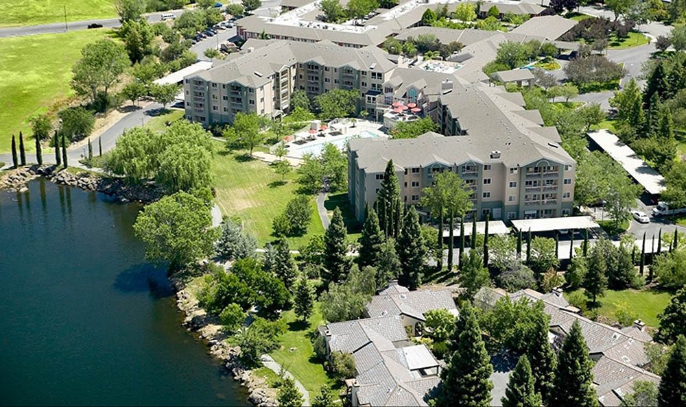 Bird's Eye View Of Our Chico Senior Living Community