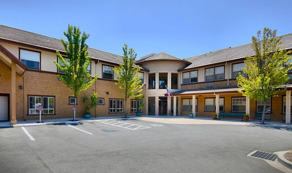 Front Of Our Senior Living Facility In Pinole CA