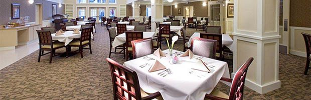 Dining offerings available at Westmont of Brentwood