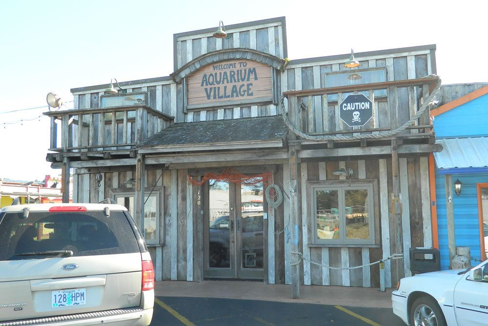 Aquarium Village's business spaces for rent have charm and character
