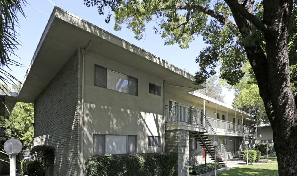 Exterior of Our Apartment Rentals In Sacramento