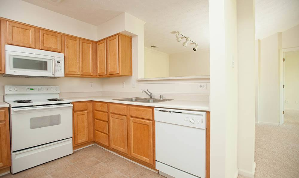 Kitchen At Apartments In Lexington Ky