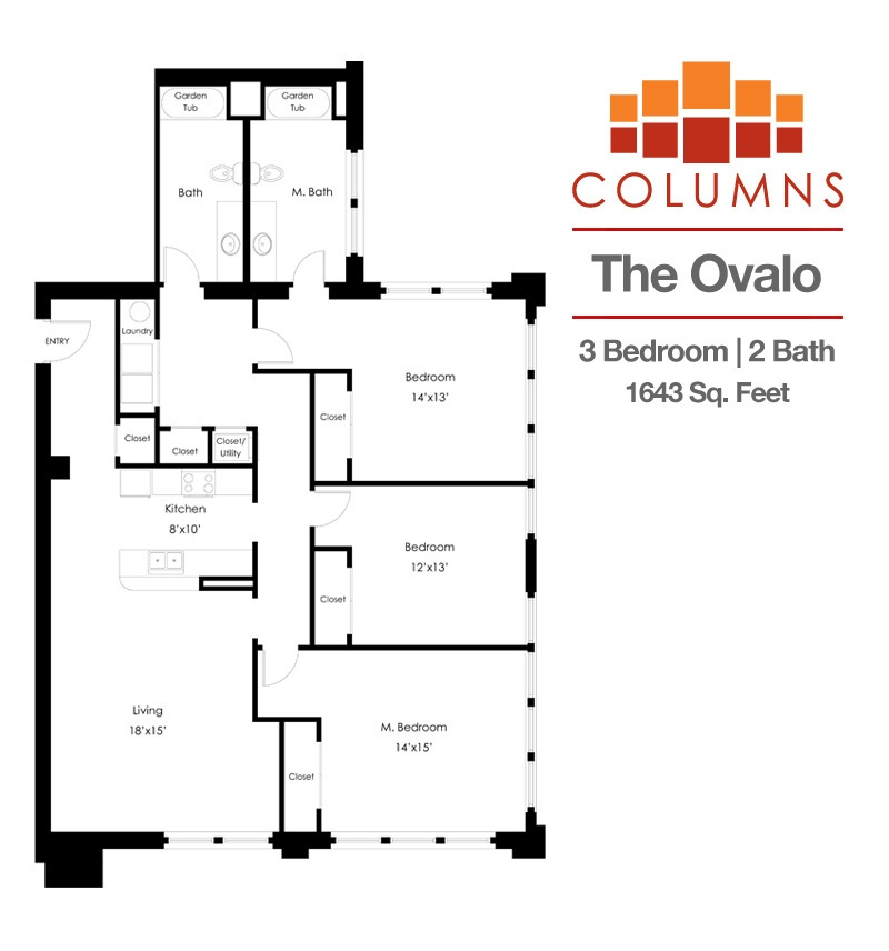 1 2 3 6 Bedroom Apartments In Downtown Bowling Green Columns