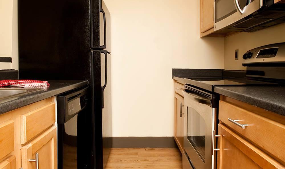 Kitchen At Apartments In Lexington Kentucky