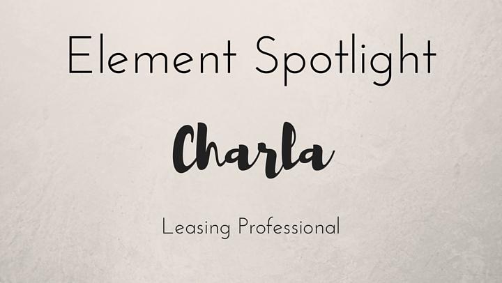 Element Spotlight Charla