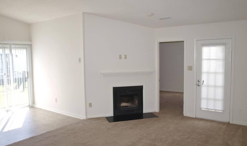 Living Room At Exterior Of Apartments In Virginia Beach Virginia
